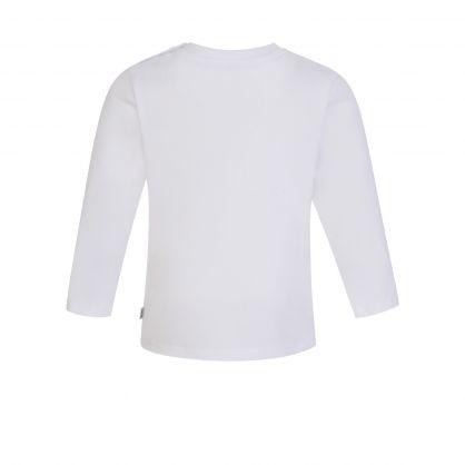 White Little Boss Baby T-Shirt
