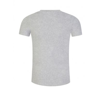 Jeans Kids Grey Piped Logo T-Shirt