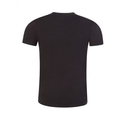 Jeans Kids Black Piped Logo T-Shirt