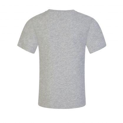 Grey Monogram Logo T-Shirt