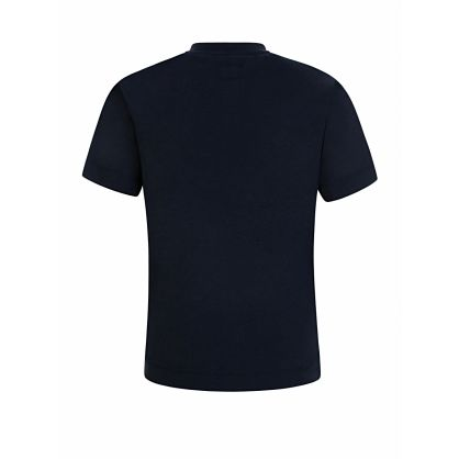 Navy Faded Chest Logo T-Shirt