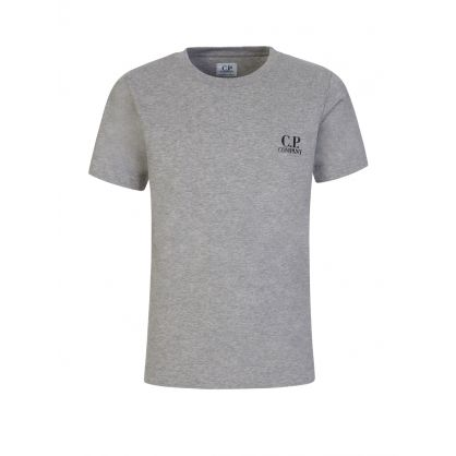 Grey Chest Logo T-Shirt