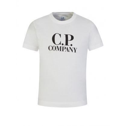 Cream Goggle Logo T-Shirt