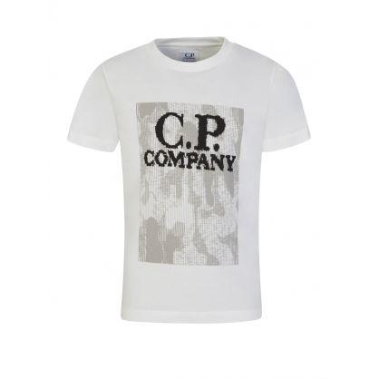 Cream Camo Logo T-Shirt