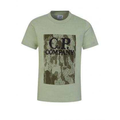 Green Camo Logo T-Shirt