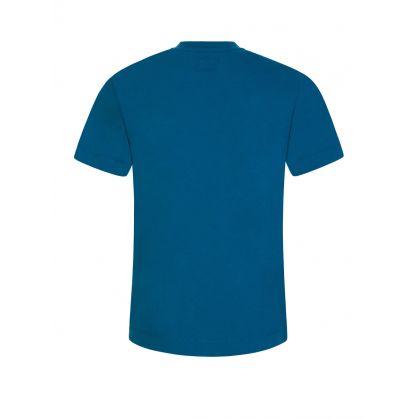 Blue Camo Logo T-Shirt