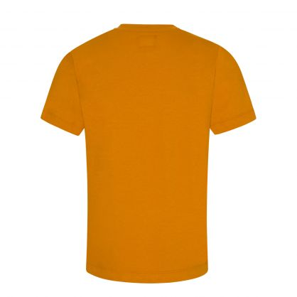 Orange Graphic Logo T-Shirt
