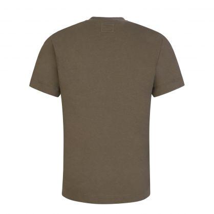 Green Graphic Logo T-Shirt