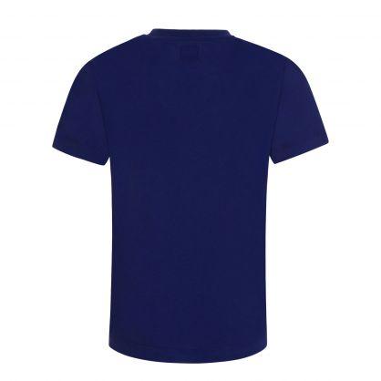 Blue Logo Graphic T-Shirt