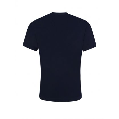Kids Navy Relaxed-Fit ICON T-Shirt