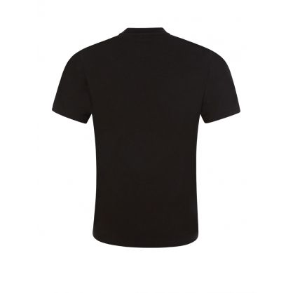 Kids Black Relaxed-Fit ICON T-Shirt