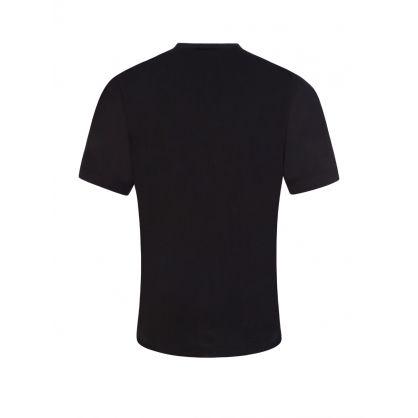 Kids Black Renny-Fit Bling ICON T-Shirt