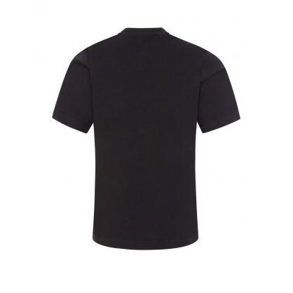 Kids Black Classic Logo T-Shirt