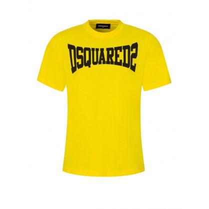 Kids Yellow Classic Logo T-Shirt