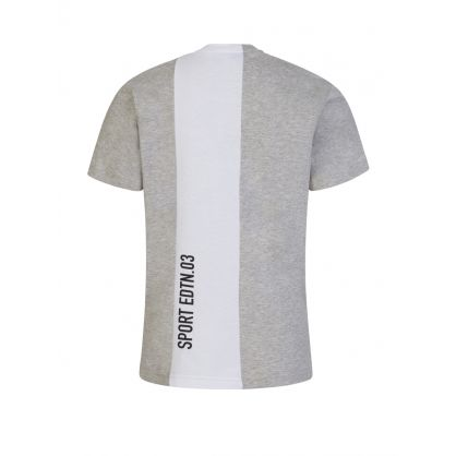 Kids Grey Sport Edtn. Stripe T-Shirt