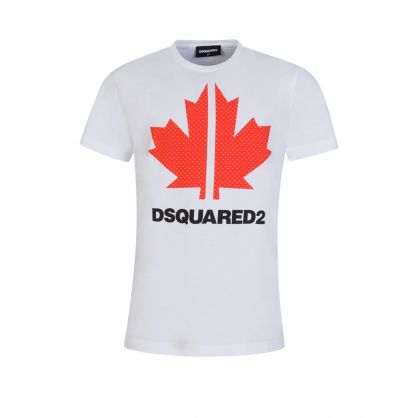 Kids White Sport Edtn.03 Maple Logo T-Shirt
