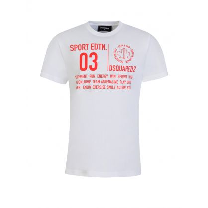 Kids White Sport Edtn. T-Shirt