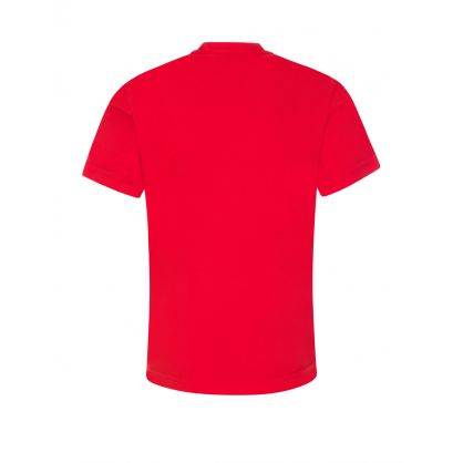 Kids Red Block Logo ICON T-Shirt
