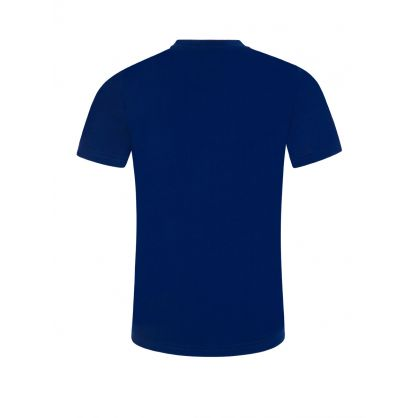 Kids Dark Blue Box Logo ICON T-Shirt