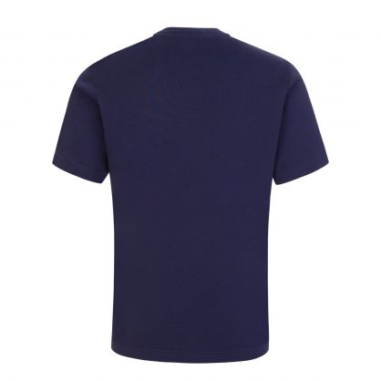 Kids Navy Blue Relaxed-Fit ICON T-Shirt