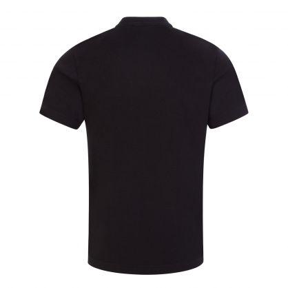 Kids Black High Shine ICON Logo T-Shirt