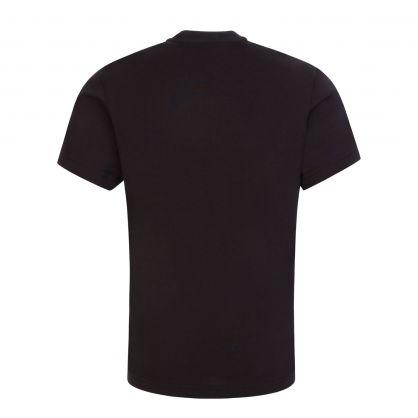 Kids Black ICON Tape Logo T-Shirt