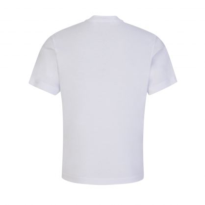 Kids White ICON Tape Logo T-Shirt