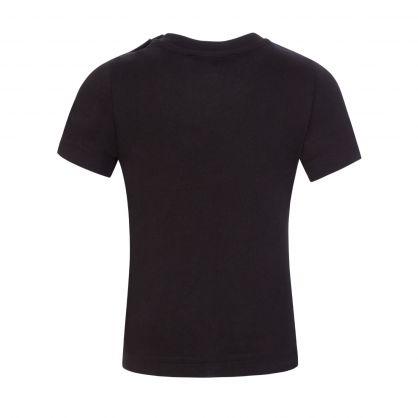 Kids Black 'Little ICON' T-Shirt