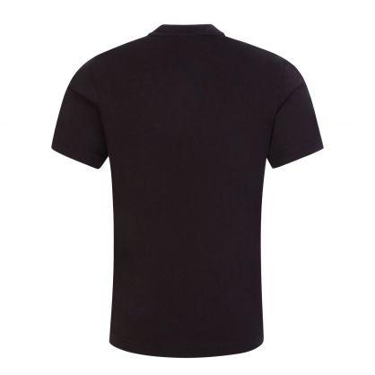 Kids Black Maple Leaf Logo T-Shirt