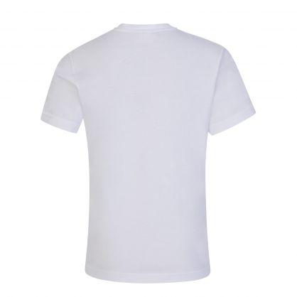Kids White Brand Logo T-Shirt