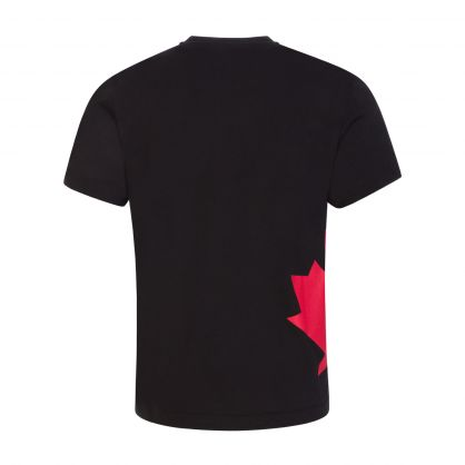 Kids Black Relaxed-Fit Sport Edtn.04 T-Shirt