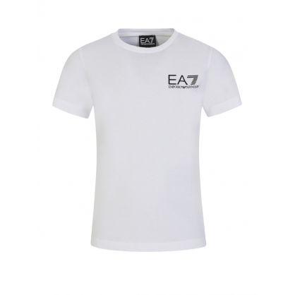 Junior White ID Logo T-Shirt