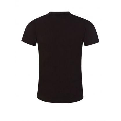 Junior Black ID Logo T-Shirt