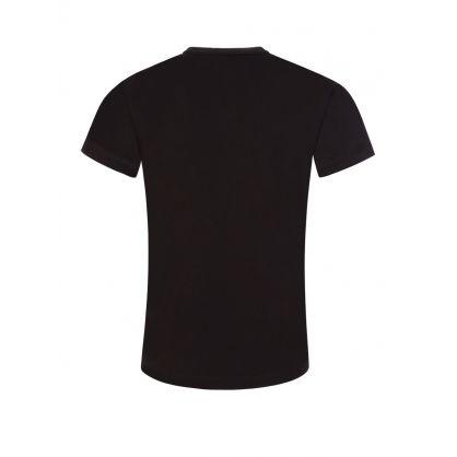 Junior Black Camo Logo T-Shirt