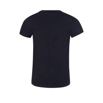 Junior Navy Logo T-Shirt
