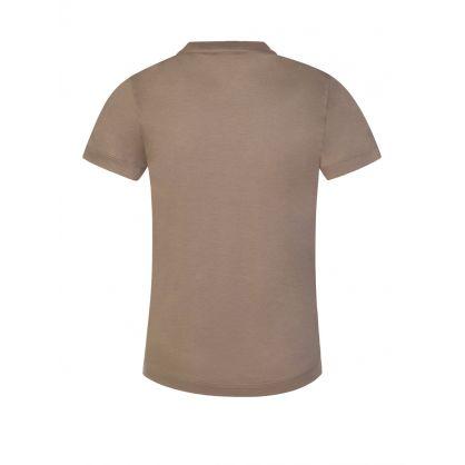 Junior Beige R-EAcreate Logo T-Shirt