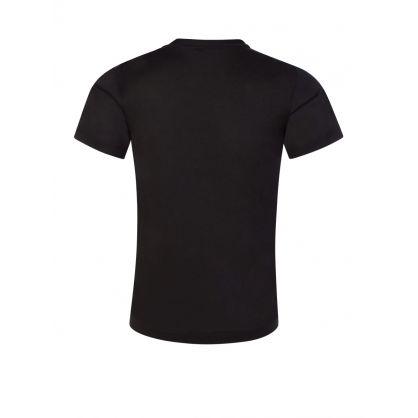 Junior Black R-EAcreate Logo T-Shirt