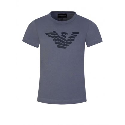 Junior White/Grey Logo T-Shirts 2-Pack
