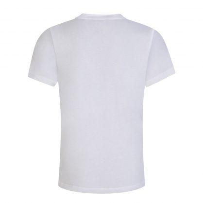 Junior White Eagle Logo T-Shirt