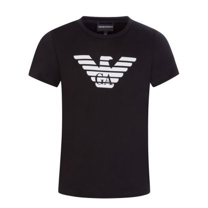 Junior Black Eagle Logo T-Shirt