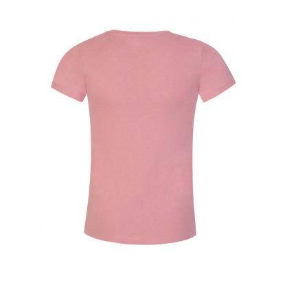 Kids Pink Glitter T-Shirt