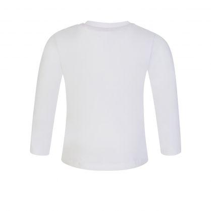 Kids White Bear T-Shirt