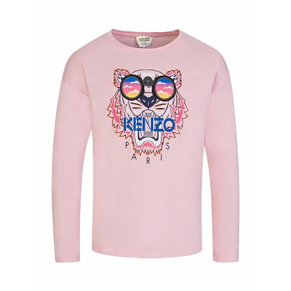 Pink Sunglasses Tiger T-Shirt