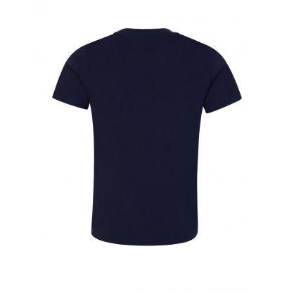 Navy Organic Cotton Logo T-Shirt