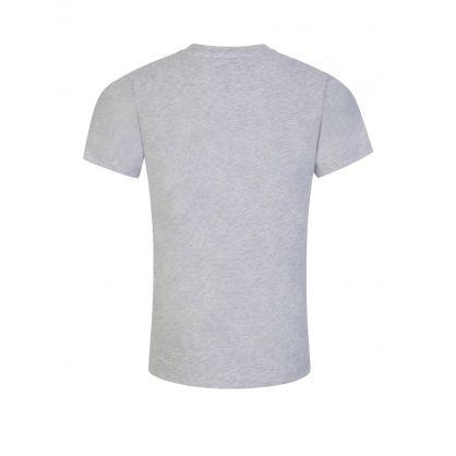 Grey Jungle Print T-Shirt