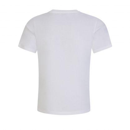White Tiger Motif T-Shirt