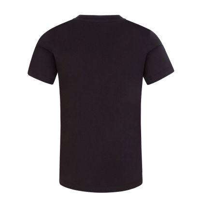 Black/Green Tiger Print T-Shirt