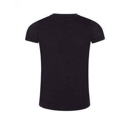 Black Neon Logo T-Shirt