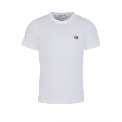 White Logo Patch T-Shirt