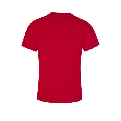 Red Logo Patch T-Shirt